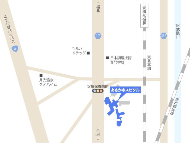あさかホスピタル バス